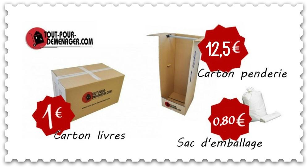 cartons demenagement et fournitures de d m nagement tout pour d m nager. Black Bedroom Furniture Sets. Home Design Ideas